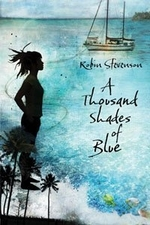 Book cover of THOUSAND SHADES OF BLUE