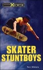 Book cover of SKATER STUNTBOYS
