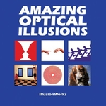 Book cover of AMAZING OPTICAL ILLUSIONS