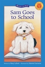 Book cover of SAM GOES TO SCHOOL