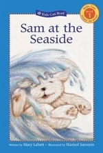 Book cover of SAM AT THE SEASIDE