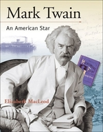 Book cover of MARK TWAIN AN AMER STAR