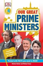 Book cover of OUR GREAT PRIME MINISTERS