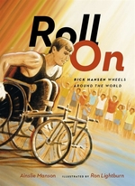 Book cover of ROLL ON