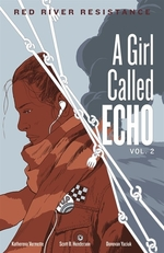 Book cover of GIRL CALLED ECHO 02 RED RIVER RESISTANCE