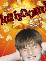 Book cover of KABOOM EXPLOSIONS OF ALL KINDS