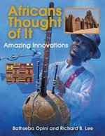 Book cover of AFRICANS THOUGHT OF IT