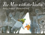 Book cover of MAN WITH THE VIOLIN