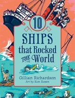Book cover of 10 SHIPS THAT ROCKED THE WORLD