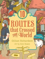 Book cover of 10 ROUTES THAT CROSSED THE WORLD