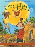 Book cover of 1 HEN - HOW A SMALL LOAN MADE A BIG DIFF