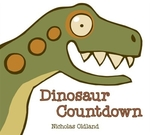 Book cover of DINOSAUR COUNTDOWN