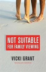 Book cover of NOT SUITABLE FOR FAMILY VIEWING