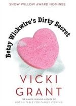 Book cover of BETSY WICKWIRE'S DIRTY SECRET