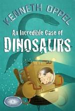 Book cover of INCREDIBLE CASE OF DINOSAURS