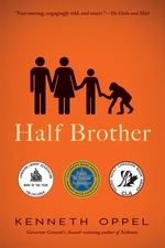 Book cover of HALF BROTHER