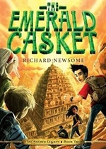 Book cover of ARCHER'S LEGACY 02 EMERALD CASKET