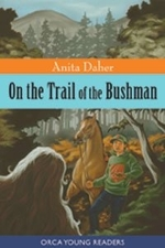 Book cover of ON THE TRAIL OF THE BUSHMAN