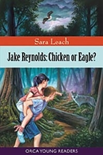 Book cover of JAKE REYNOLDS CHICKEN OR EAGLE
