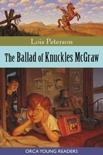 Book cover of BALLAD OF KNUCKLES MCGRAW
