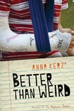 Book cover of BETTER THAN WEIRD