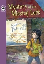 Book cover of MYSTERY OF THE MISSING LUCK