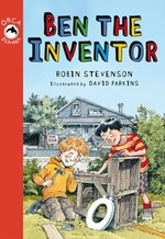 Book cover of BEN THE INVENTOR