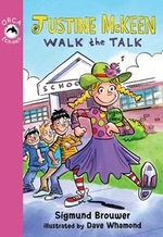 Book cover of JUSTINE MCKEEN WALK THE TALK