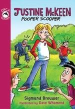 Book cover of JUSTINE MCKEEN POOPER SCOOPER