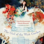 Book cover of GIRL OF THE WISH GARDEN