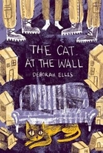Book cover of CAT AT THE WALL