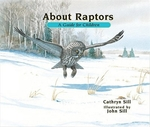 Book cover of ABOUT RAPTORS A GUIDE FOR CHILDREN