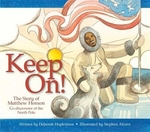Book cover of KEEP ON - STORY OF MATTHEW HENSON
