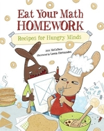 Book cover of EAT YOUR MATH HOMEWORK