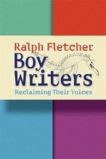 Book cover of BOY WRITERS RECLAIMING THEIR VOICES