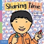 Book cover of SHARING TIME - BOARD BOOK