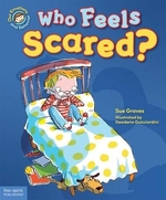 Book cover of WHO FEELS SCARED