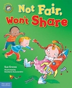 Book cover of NOT FAIR WON'T SHARE
