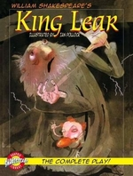 Book cover of KING LEAR - GRAPHIC SHAKESPEARE