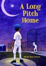Book cover of LONG PITCH HOME