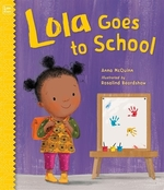 Book cover of LOLA GOES TO SCHOOL