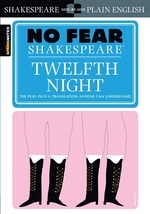 Book cover of 12TH NIGHT - NO FEAR SHAKESPEARE