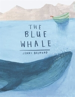 Book cover of BLUE WHALE