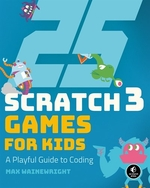 Book cover of 25 SCRATCH GAMES FOR KIDS