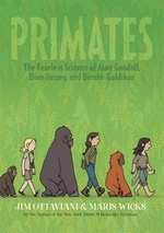 Book cover of PRIMATES - THE FEARLESS SCIENCE OF JANE