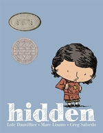 Book cover of HIDDEN - A CHILDREN'S STORY OF THE HOLOC