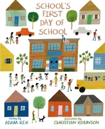 Book cover of SCHOOL'S 1ST DAY OF SCHOOL