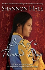 Book cover of BOOK OF A THOUSAND DAYS