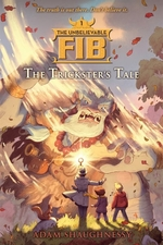 Book cover of UNBELIEVABLE FIB 01 TRICKSTER'S TALE