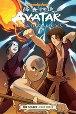 Book cover of AVATAR THE LAST AIRBENDER THE SEARCH 03